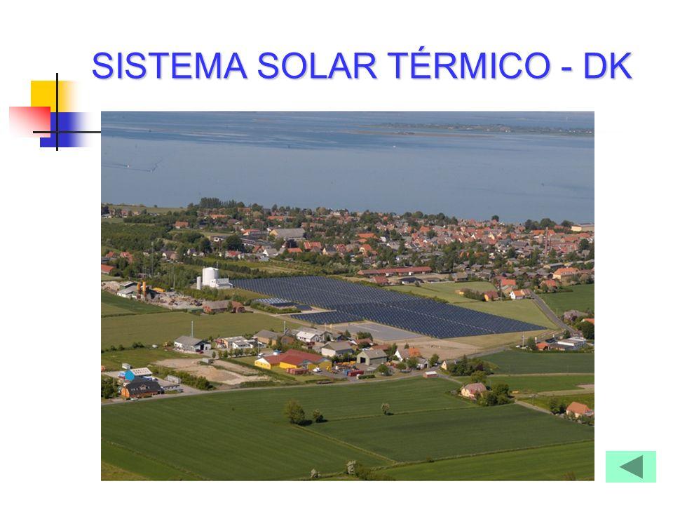 SISTEMA SOLAR TÉRMICO - DK