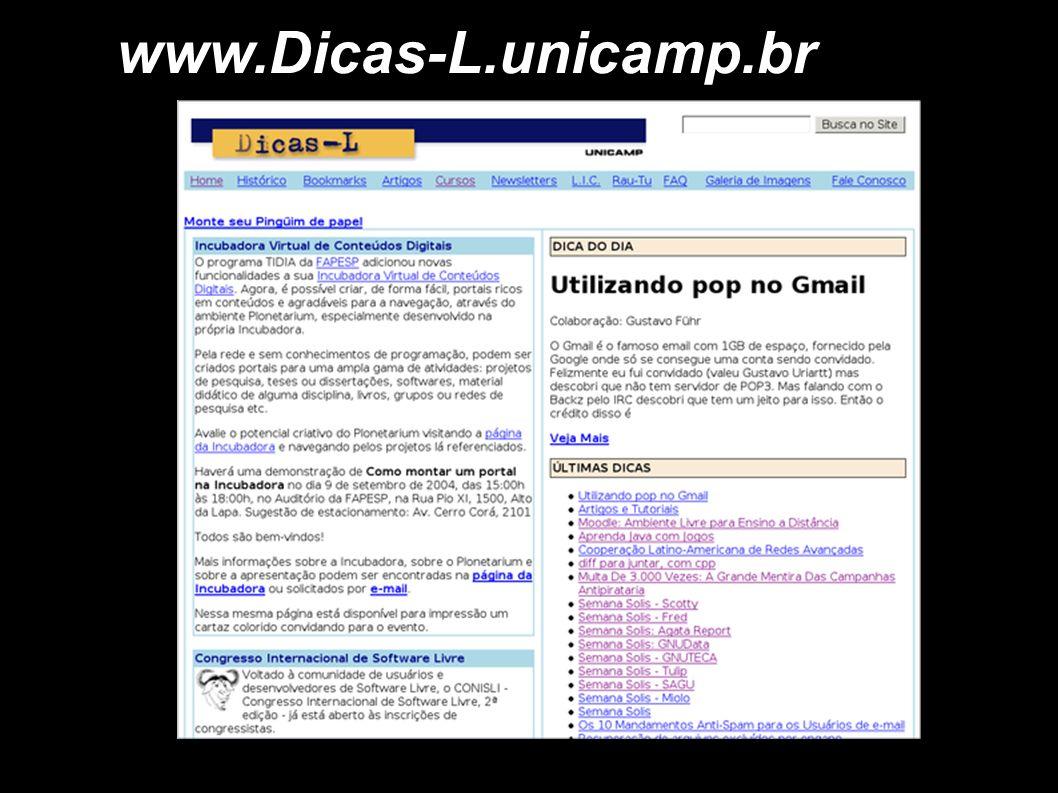 www.Dicas-L.unicamp.br