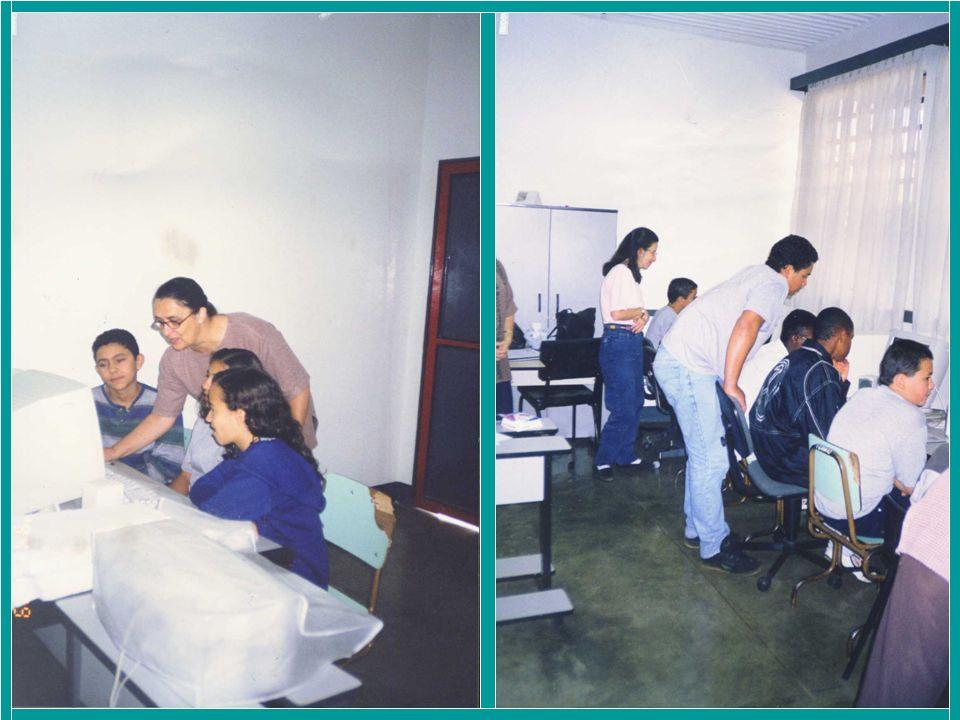 Ano 2003 Curso – EAD: Integrating the Internet into the Classroom Após o curso Integrating...
