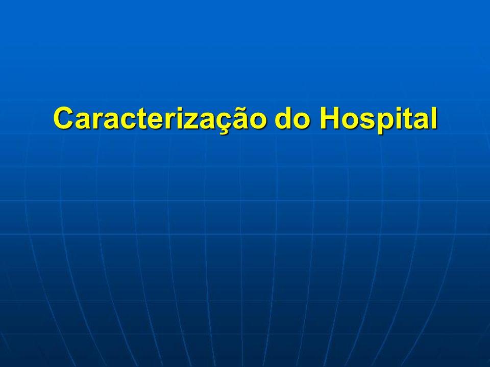 Caracterização do Hospital