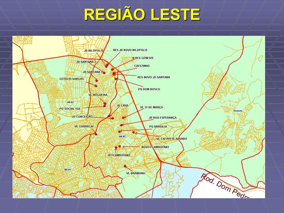 REGIÃO LESTE