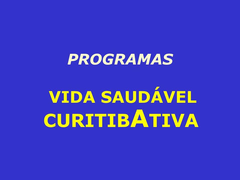 PROGRAMAS VIDA SAUDÁVEL CURITIB A TIVA