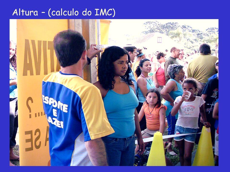 Altura – (calculo do IMC)