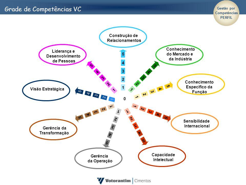 Grade de Competências VC Construção de Relacionamentos 5 4 3 2 1 5 4 3 2 1 5 4 3 2 1 5 4 3 2 1 5 4 3 2 1 5 4 3 2 1 5 4 3 2 1 5 4 3 2 1 5 4 3 2 1 0 Con