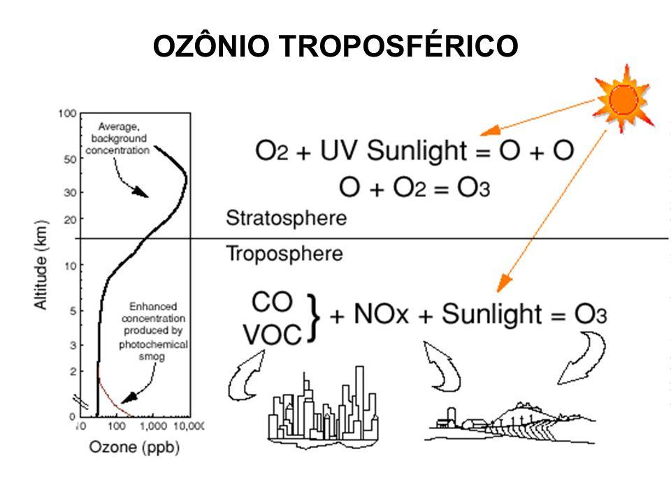 OZÔNIO TROPOSFÉRICO