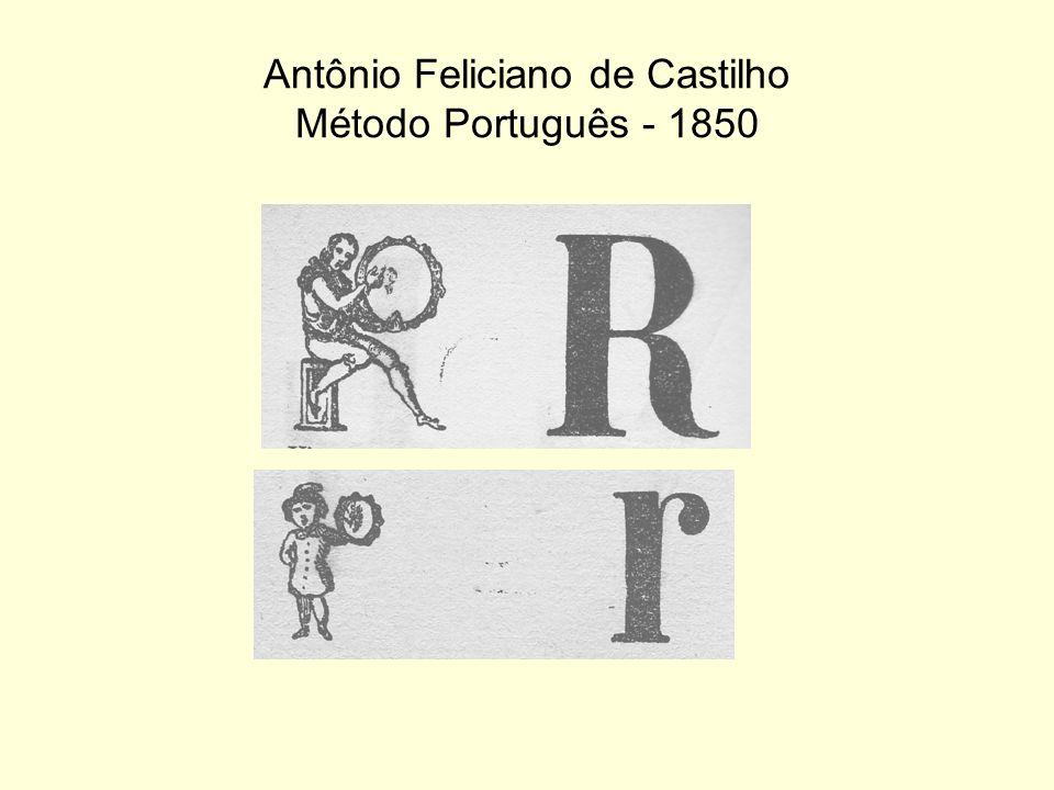 Antônio Feliciano de Castilho Método Português - 1850