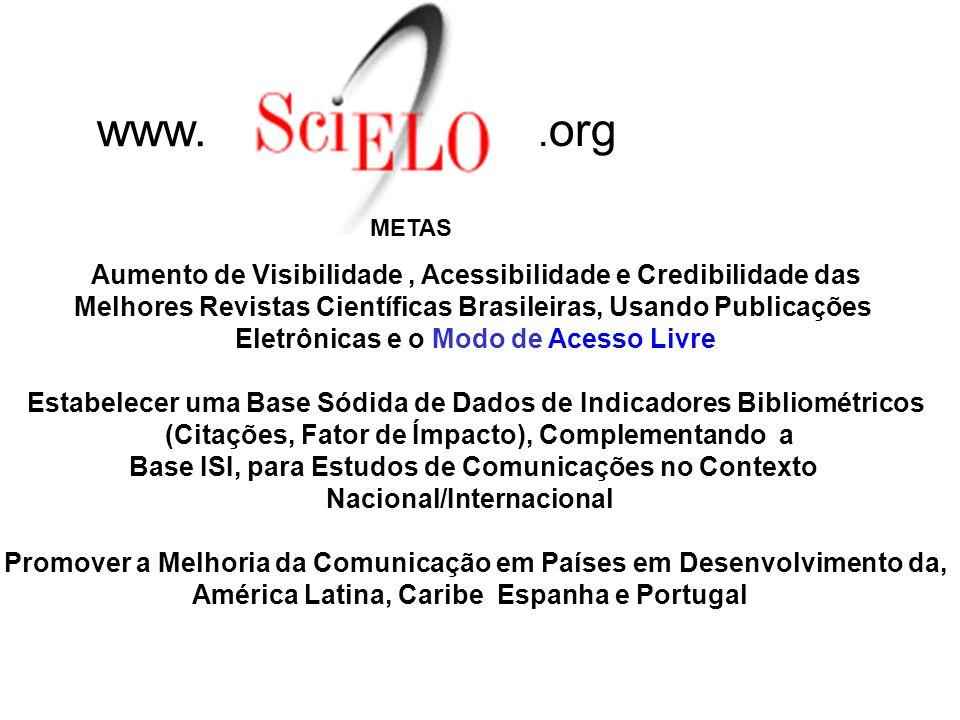 Iniciativas no Brasil para Tornar a Ciência Produzida em Países Desenvolvidos Mais Visível e Acessível. BOM NEGÓCIO? 1- A CAPES, Coordenação de Aperfe