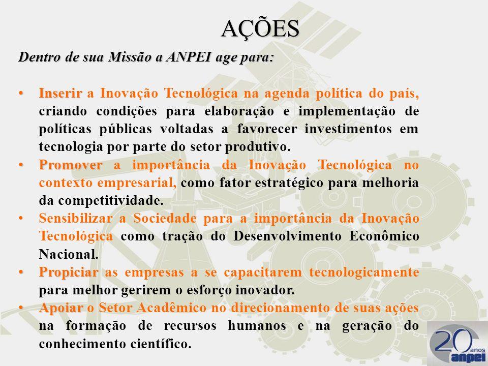 Detendo quase 50% do PIB da indústria brasileira, é inadiável a formulação de políticas que incentivem e atraiam os investimentos das empresas estrangeiras em P&D, no Brasil.