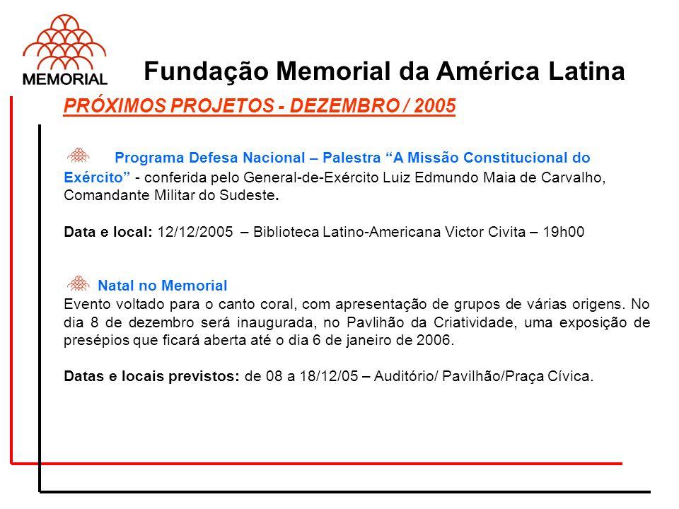 Programa Defesa Nacional – Palestra A Missão Constitucional do Exército - conferida pelo General-de-Exército Luiz Edmundo Maia de Carvalho, Comandante