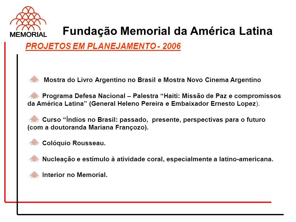 Mostra do Livro Argentino no Brasil e Mostra Novo Cinema Argentino Programa Defesa Nacional – Palestra Haiti: Missão de Paz e compromissos da América