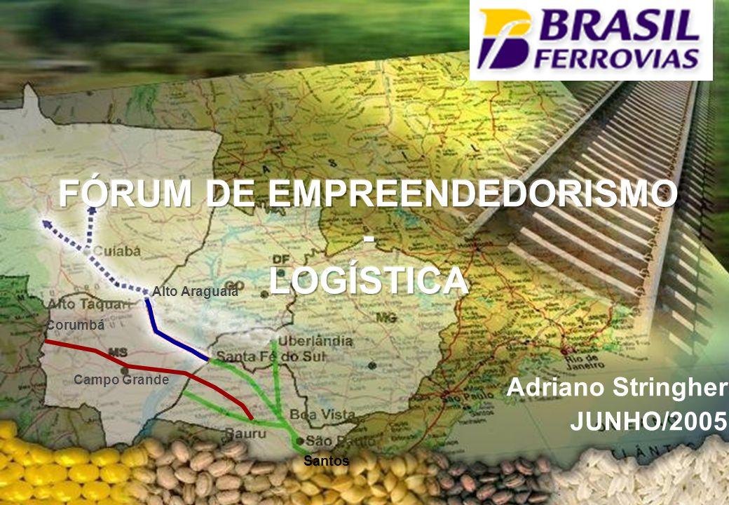 Agenda O Setor Ferroviário A Brasil Ferrovias e Novoeste Brasil Exemplos de Empreendedorismo no Setor Considerações Finais