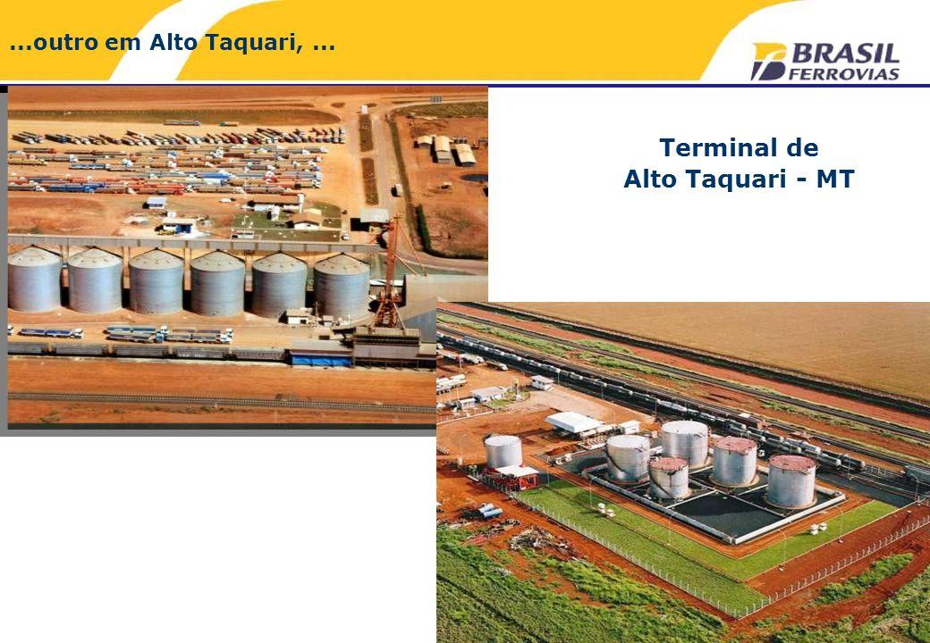 Terminal de Alto Taquari - MT...outro em Alto Taquari,...