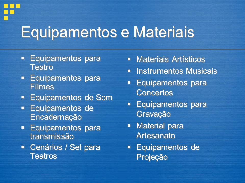 Equipamentos e Materiais Equipamentos para Teatro Equipamentos para Filmes Equipamentos de Som Equipamentos de Encadernação Equipamentos para transmissão Cenários / Set para Teatros Equipamentos para Teatro Equipamentos para Filmes Equipamentos de Som Equipamentos de Encadernação Equipamentos para transmissão Cenários / Set para Teatros Materiais Artísticos Instrumentos Musicais Equipamentos para Concertos Equipamentos para Gravação Material para Artesanato Equipamentos de Projeção