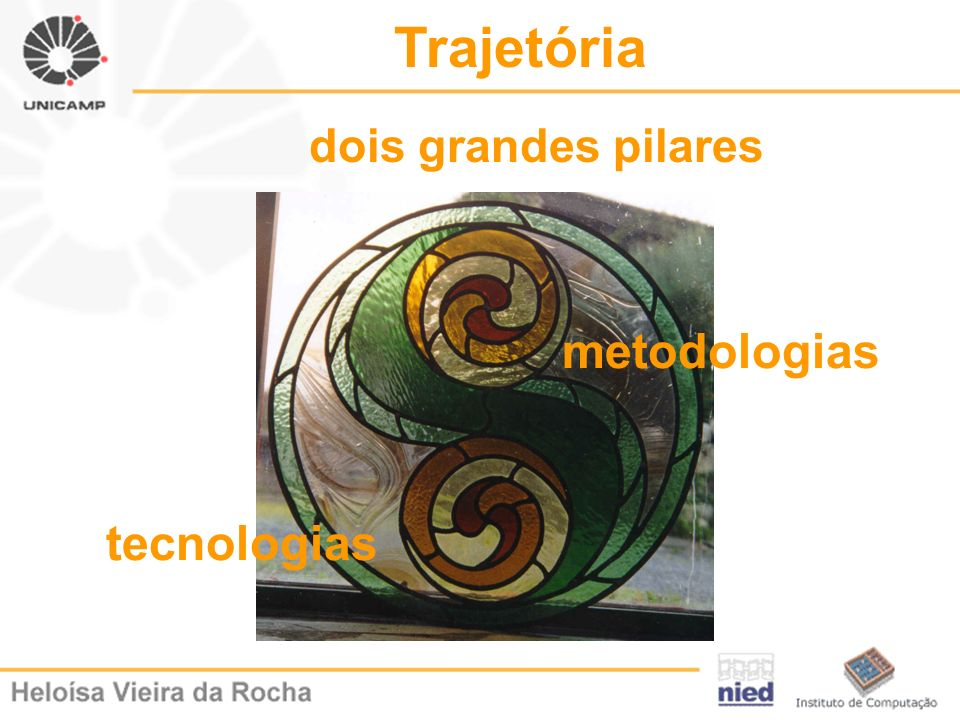 Trajetória tecnologias metodologias dois grandes pilares