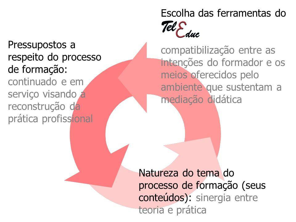 Pressupostos a respeito do processo de formação: continuado e em serviço visando a reconstrução da prática profissional Natureza do tema do processo d