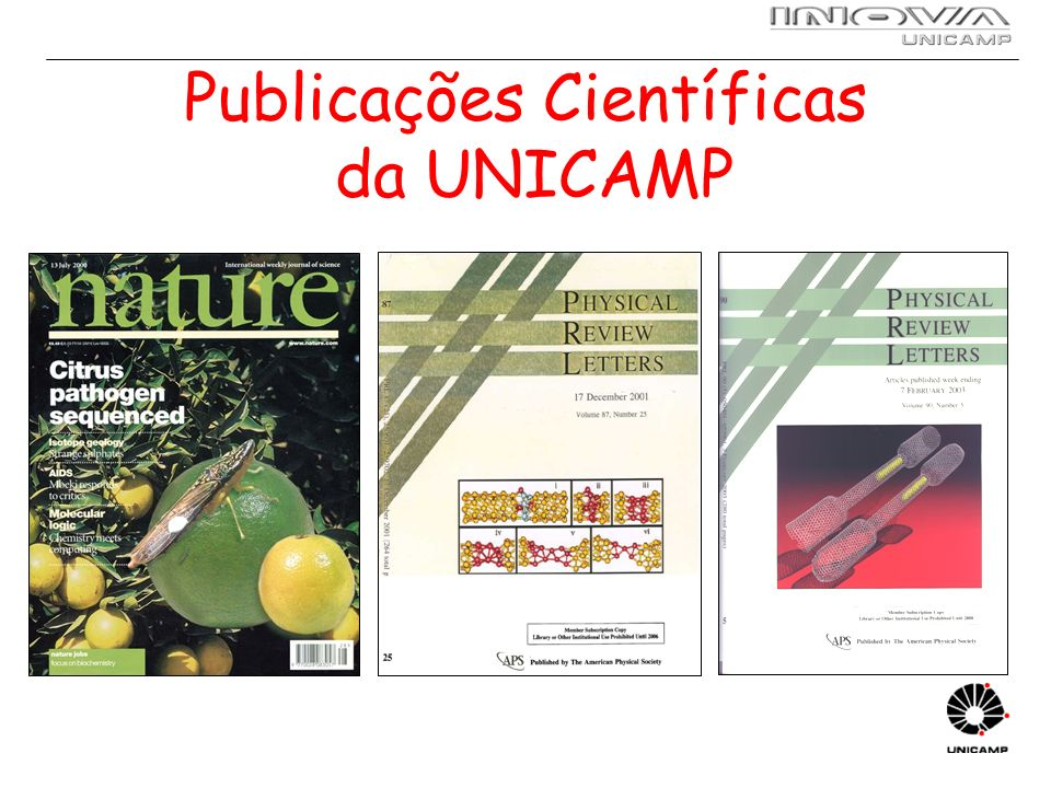 Workshops de Parceria 2 workshops: I : UNICAMP II: empresa 15 em menos de 1 ano Caderno de resumos de propostas