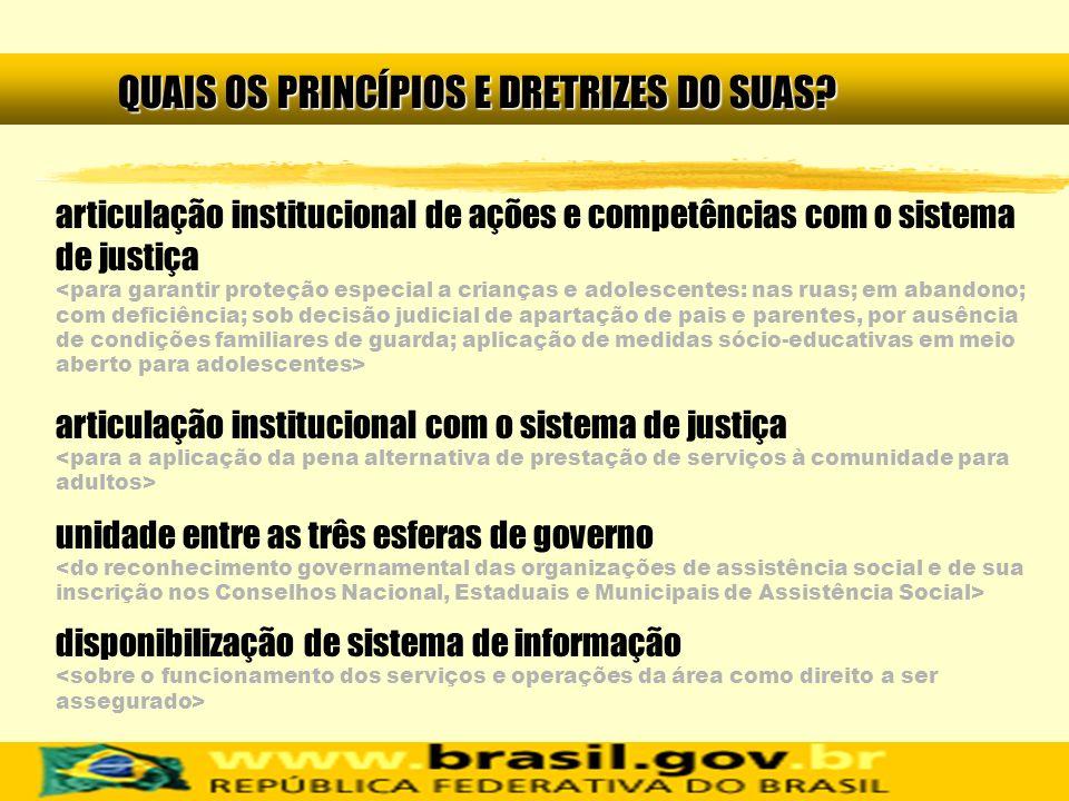 articulação institucional de ações e competências com o sistema de justiça articulação institucional com o sistema de justiça unidade entre as três es