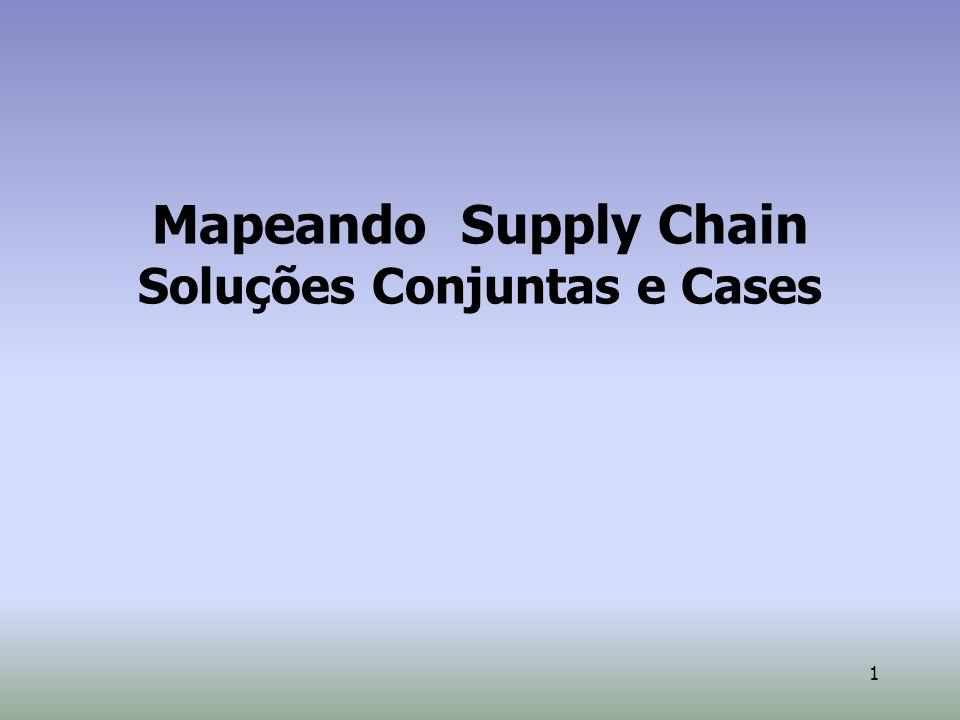 1 Mapeando Supply Chain Soluções Conjuntas e Cases