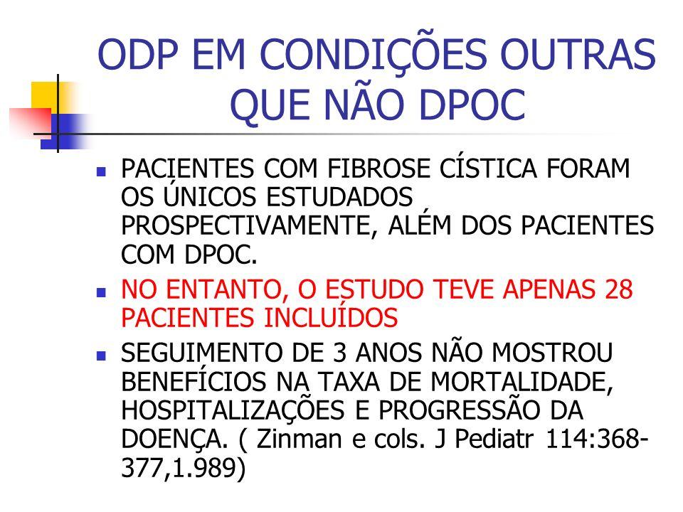 HIPOXEMIA NAS FIBROSES INTERSTICIAIS A EVOLUÇÃO CLÍNICA DOS PACIENTES PORTADORES DE FIBROSES INTERSTICIAIS SUGERE QUE SEU COMPORTAMENTO É DIFERENTE DAQUELE OBSERVADO EM PACIENTES COM DOENÇAS OBSTRUTIVAS.