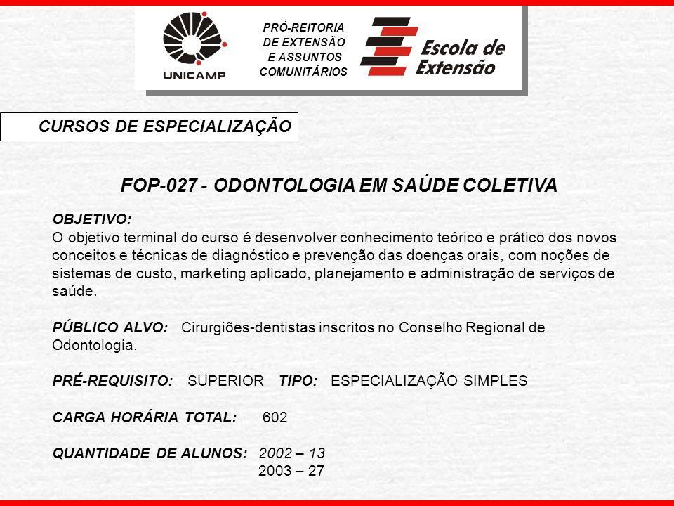 INF-300 - ENGENHARIA DE SOFTWARE OBJETIVO: Capacitar profissionais da área de informática, com formação ou não na área, a desenvolver, implementar, testar e gerenciar software com qualidade.