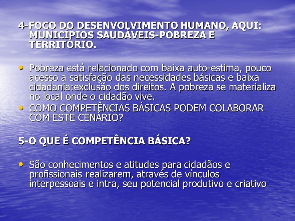 6-QUAIS SÃO AS COMPETÊNCIAS BÁSICAS .6-QUAIS SÃO AS COMPETÊNCIAS BÁSICAS .