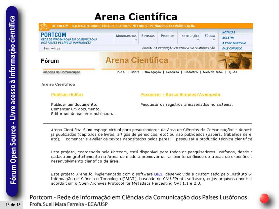 13 de 18 Arena Científica