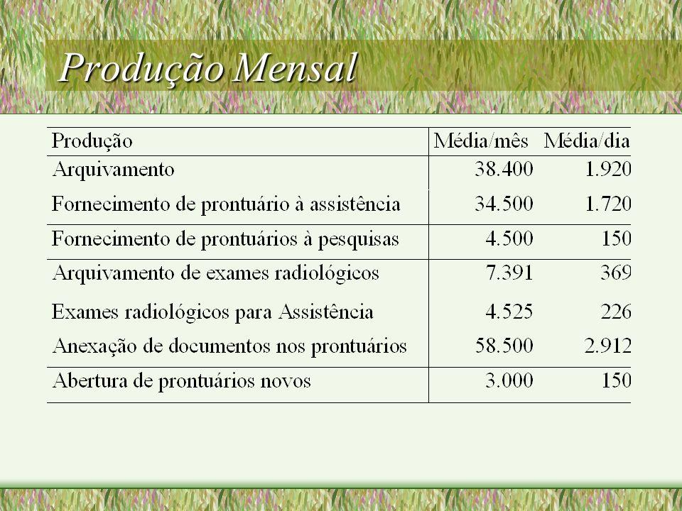 Grandes Usuários Internos Ambulatórios Enfermarias Procedimentos Pronto Socorro Profissionais de Saúde Serviço de Contas Externos FCM Gastrocentro Hemocentro CAISM Auditorias Poder Judiciário Paciente
