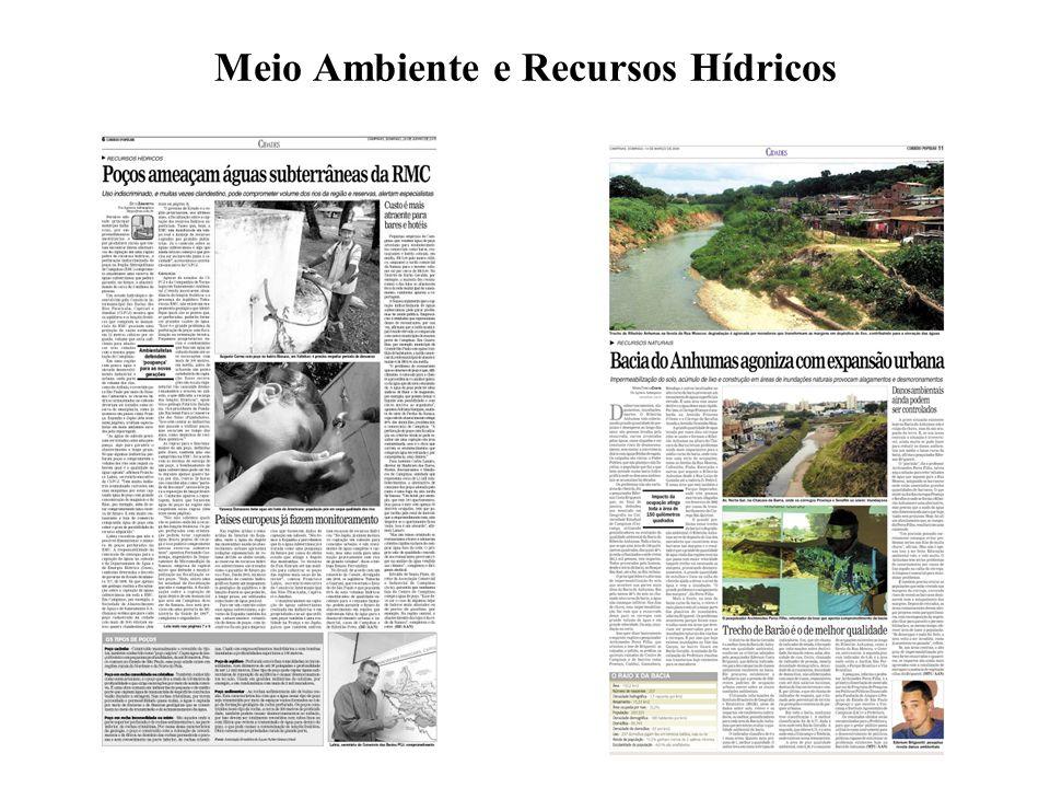 Meio Ambiente e Recursos Hídricos