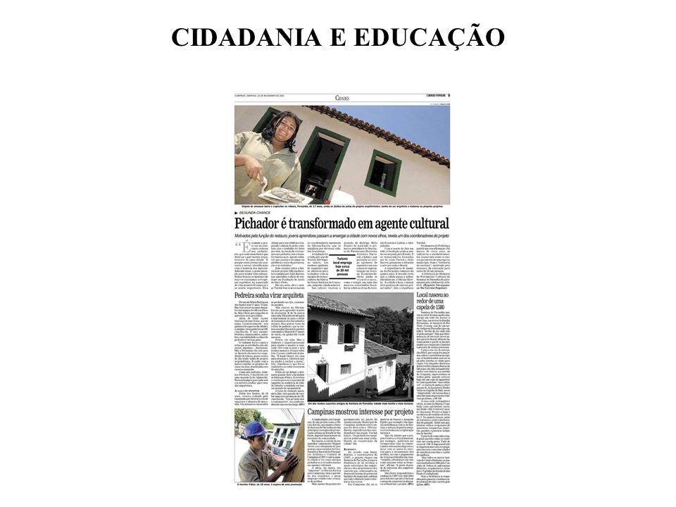 CIDADANIA E EDUCAÇÃO