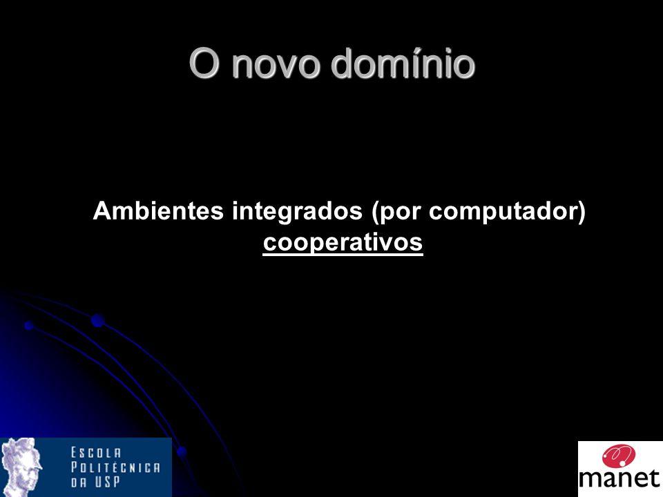 O novo domínio Ambientes integrados (por computador) cooperativos