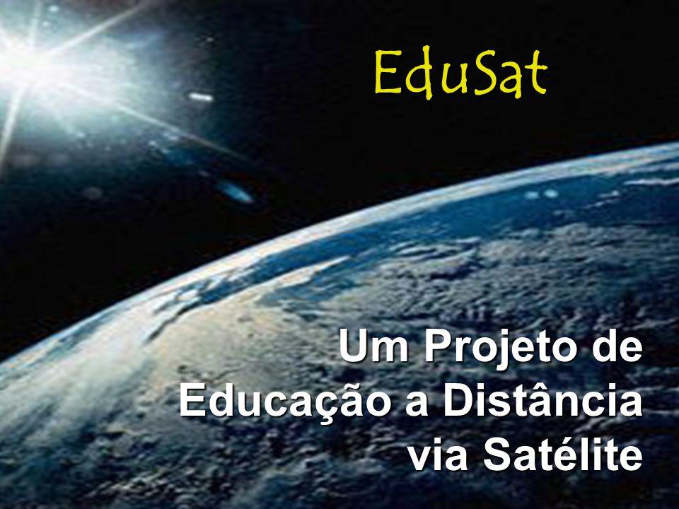 Um Projeto de Educação a Distância via Satélite EduSat