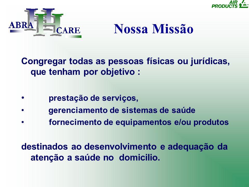 Nossa Missão Congregar todas as pessoas físicas ou jurídicas, que tenham por objetivo : prestação de serviços, gerenciamento de sistemas de saúde forn