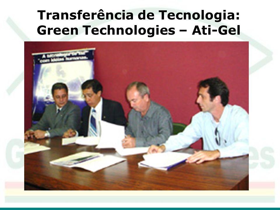 Transferência de Tecnologia: Green Technologies – Ati-Gel