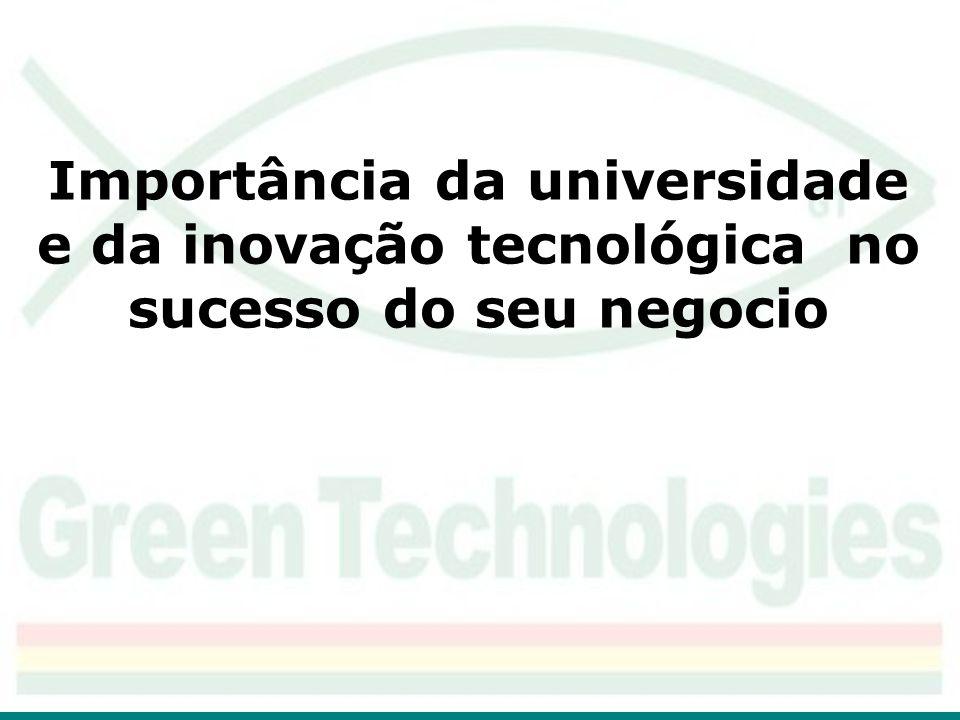 Importância da universidade e da inovação tecnológica no sucesso do seu negocio