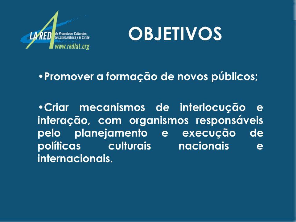 www.Redlat.org Um portal especializado É dirigido a oferecer informação sobre as artes e a cultura na América Latina e no Caribe, onde confluirão as diversas alternativas culturais que oferece esta região para o mundo.