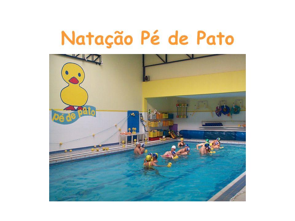Natação Pé de Pato Início das atividades: 1985 Formada a partir da necessidade de complemento da trabalho de Fisioterapia Respiratória da Fisioterapeu