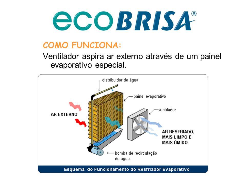 Alternativa Econômica, Saudável e Ecológica para Climatização de Ambientes