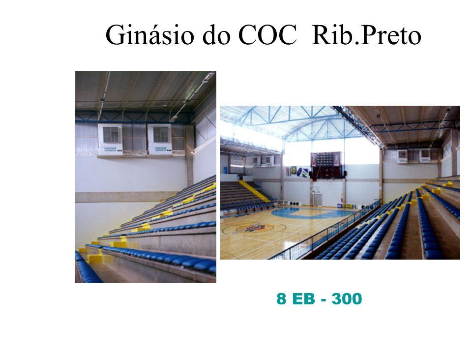 Colégio - COC – Piracicaba - SP 20 EB-20- Janela Instalados em 10 salas de aulas