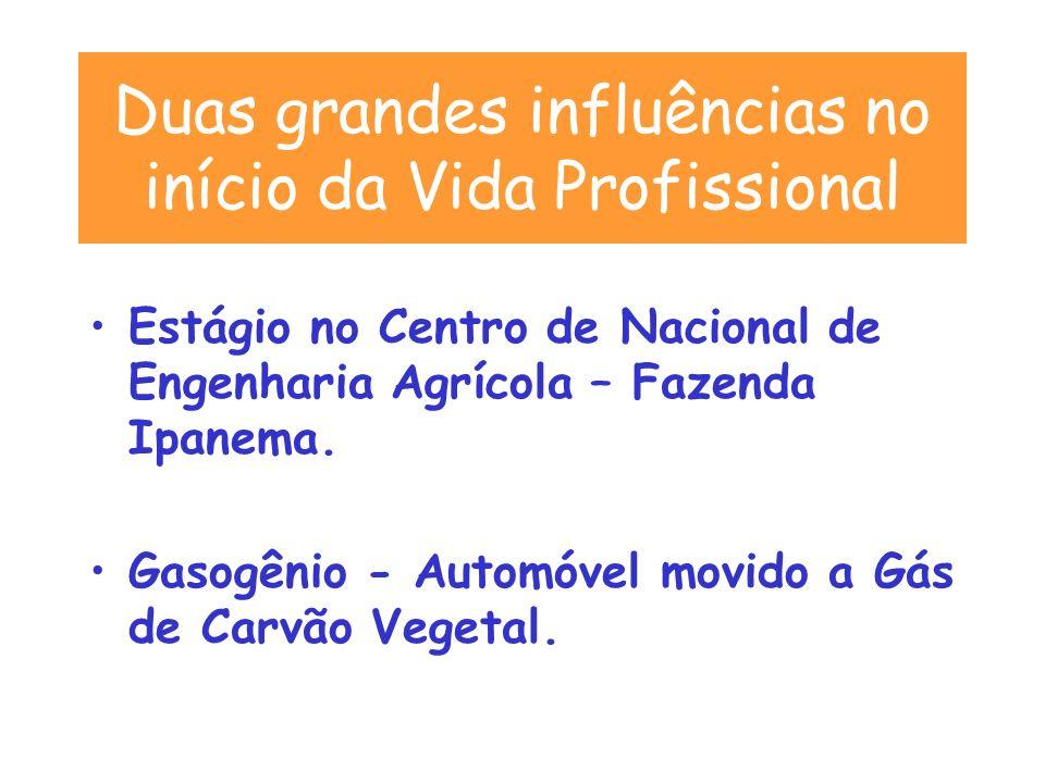 Estágio no Centro de Nacional de Engenharia Agrícola – Fazenda Ipanema.