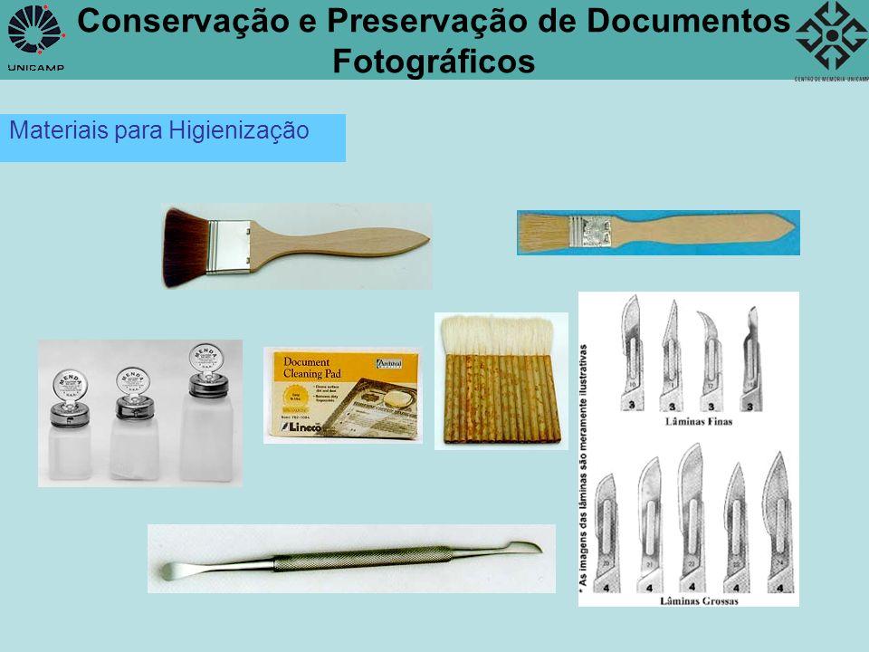 Conservação e Preservação de Documentos Fotográficos Acondicionamento