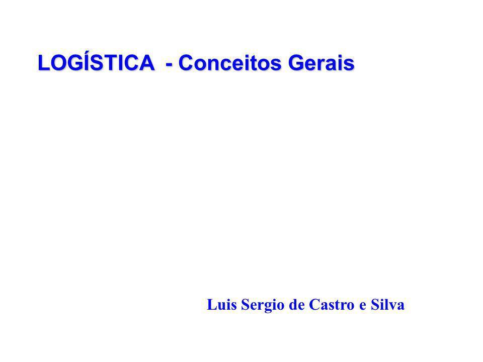 LOGÍSTICA - Conceitos Gerais Luis Sergio de Castro e Silva