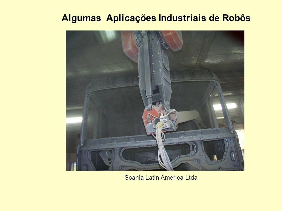 Distribuição de Robôs por Aplicação Industrial. Robôs ABB instalados no Brasil Aplicação Industrial (1250 unidades) Percentual Soldagem por pontos 33