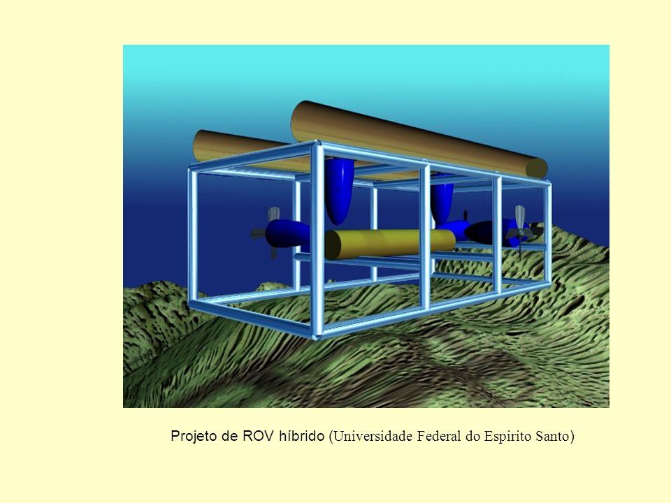 Aplicações não-convencionais de Robôs èRobótica Submarina; Braço Passivo para Posicionamento Dinâmico ROV (CENPES / COPPE-PEE-PEM)