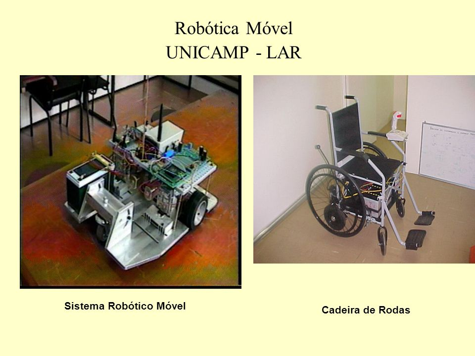 Robôs Móveis Funções: Inspeção, Teleoperação, Fusão Sensorial