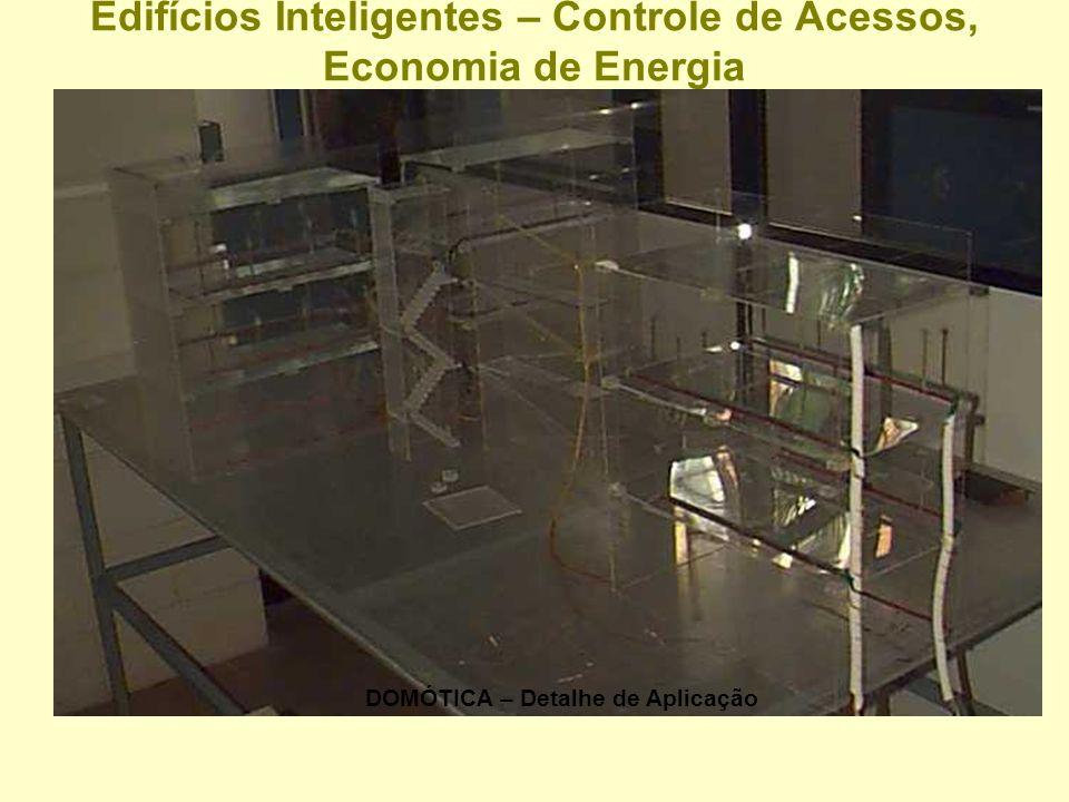 Edifícios Inteligentes – Controle de Acessos, Economia de Energia Maquete - FEM-UNICAMP