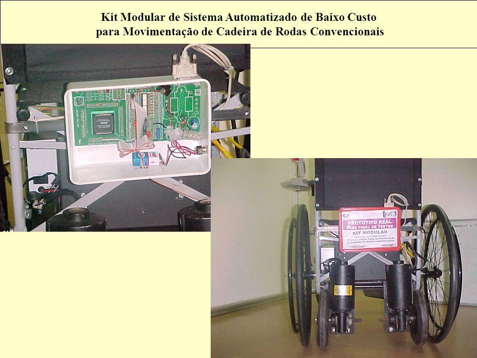 Kit Modular de Sistema Automatizado de Baixo Custo para Movimentação de Cadeira de Rodas Convencionais