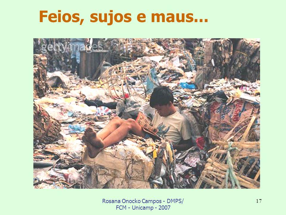 Rosana Onocko Campos - DMPS/ FCM - Unicamp - 2007 17 Feios, sujos e maus...