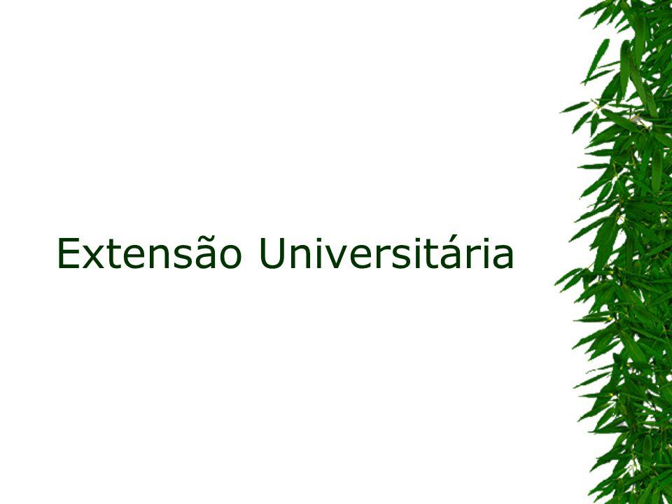 Prática acadêmica que interliga a universidade, em suas atividades de ensino e pesquisa, com as demandas da sociedade.