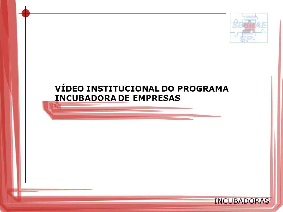 VÍDEO INSTITUCIONAL DO PROGRAMA INCUBADORA DE EMPRESAS