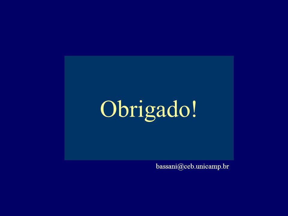 Obrigado! bassani@ceb.unicamp.br